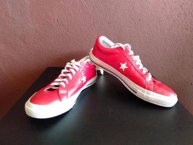 Rare Red Converse one star ct all star