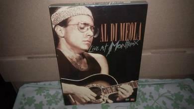 DVD Al Di Meola - Live At Montreux