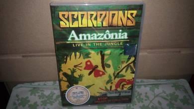 DVD Scorpions - Live In The Jungle