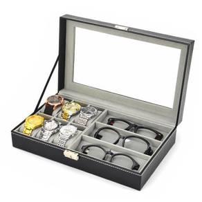 Watch Display & Storage Box Case Sunglasses Storag