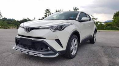 Toyota Chr oem bodykit paint spoiler body kit ch-r