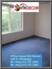 Natural OfficeCarpet Rollwith install 9JJW
