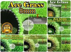 U35mm Natural Artificial Grass Rumput Tiruan 07