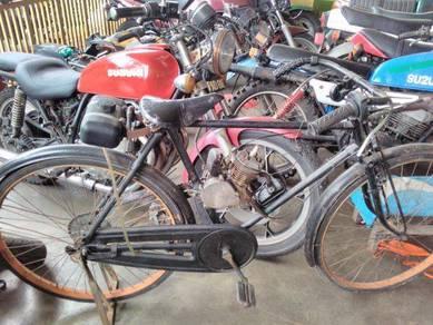 Motor pedal 50cc