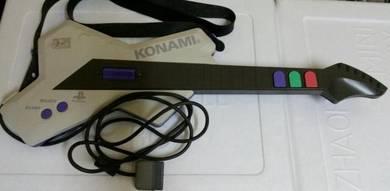PS1 Playstation Konami Guitar Controller