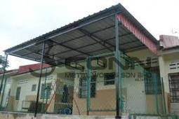 Roofing Metal Deck Awning