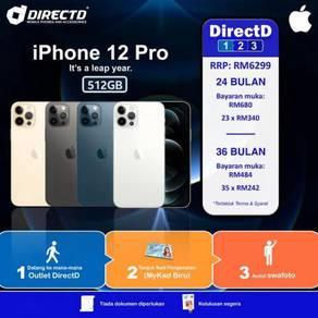 APPLE iPhone 12 PRO 512GB (ANSURAN TANPA DOKUMEN)