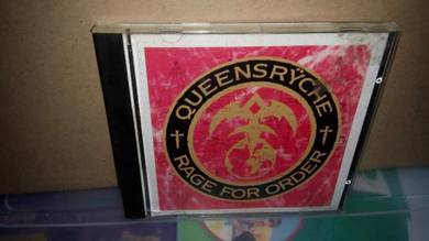 CD Queenryche - Rage For Order
