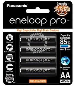 Panasonic Eneloop Pro 4x AA 2550mAh NiMH Rech Batt