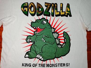 Authentic GODZILLA KING OF THE MONSTER SzM T-Shirt