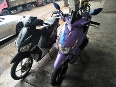 Skuter Honda Click/Icon Power Coolant 110cc 1owner
