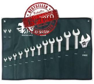 Sata 08025 Combination Wrench Set 15Pcs