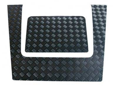 Land Rover defender 110 protector checker plate