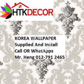 Classic wall paper with Expert Installation 55AXH