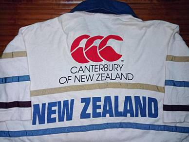Authentic CANTERBURY OF NZ SzL Stripes Rugby Shirt