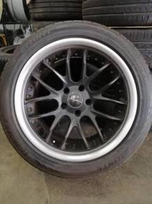 BMW 5 Series E39 / E60 Breyton 18inch Rim & Tyre