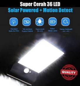 Lampu Laman Rumah Solar Bright Spot 36 LED Auto