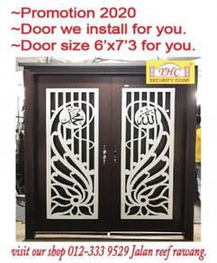 New Security Door Double Safety Selangor 2u