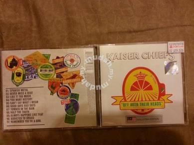 Kaiser Chiefs Original Music CD