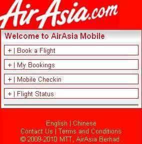 Perkhidmatan Beli Tiket Air Asia