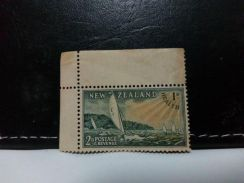 1951 New Zealand Stamp, yachting