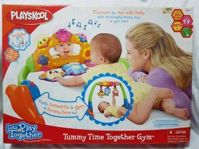 PlaysKool Tummy Time Together Gym