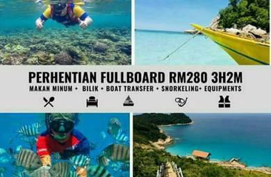 Pakej pulau perhentian 3h2m fullboard