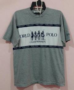 Rare tshirt polo world championships