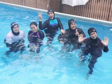 Kelas Renang Muslimah Swimming Class