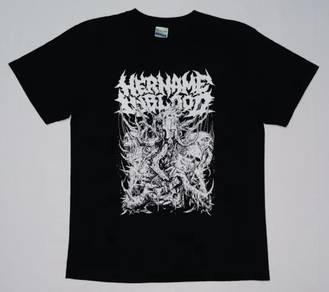 Her Name In Blood Band Shirt (SIZE L)