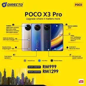 POCO X3 PRO (128GB / S.DRAGON 860/5160 mAh)