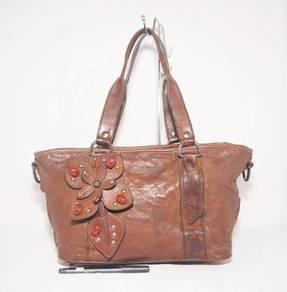 Authentic MIU MIU jewelled flower leather kueii