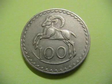 Cyprus 100 Mils 1976