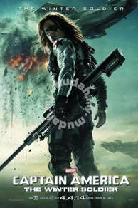 Poster CAPTAIN AMERICA WINTER SOLDIER 2
