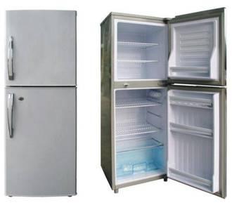 Solar DC 12V 24V Fridge Refrigerator Peti Sejuk
