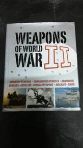 WEAPONS OF THE WORLD WAR 2 Book