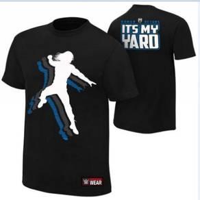 WWE WWF Shirt Baju Gusti Roman Reign It's My Yard