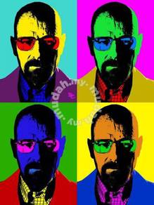 Poster POP ART BREAKING BAD