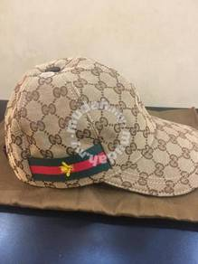 Gucci cap bee brown