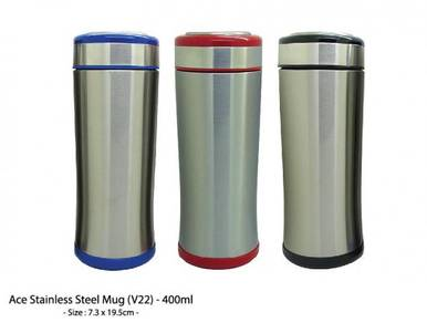 Ace Stainless Steel Mug (V22) - 400ml