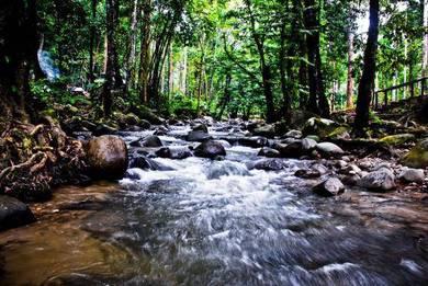 Tanah Kebun di Sungai Congkak 40 min dari Kuala Lumpur