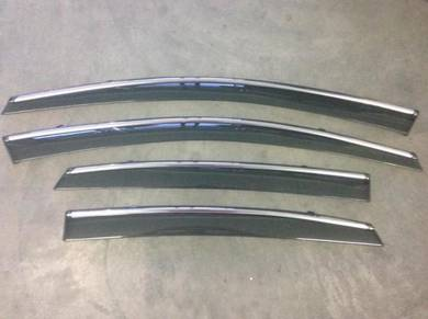 Mercedes benz w212 e200 chrome lining door visor