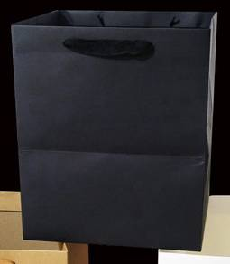 20 pcs black gift paper bags