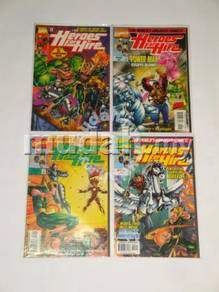HEROES FOR HIRE. 1997 series. 1 set