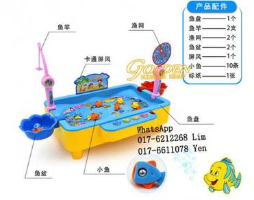 T1567A Colourful Magnet Fishing Game