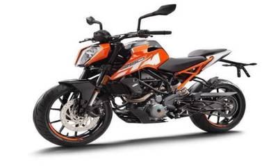 New KTM DUKE 250 ABS with full face