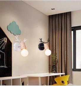Wall light with led bulb