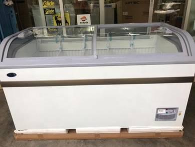Icecream showcase freezer (led lamp) 500liter feb