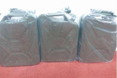 Oil, Petrol, Diesel, Water Fuel Tank Container 5L