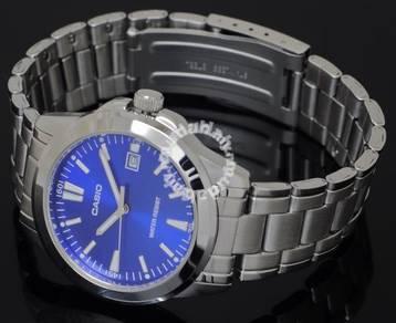 Casio Men Analog Date Watch MTP-1215A-2A2DF